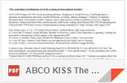 ABCO KISS The Australian Constitutional Act