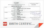 BIRTH CERTIFICATE_PROOF OF NAME CHANGE