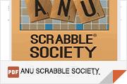 ANU SCRABBLE SOCIETY